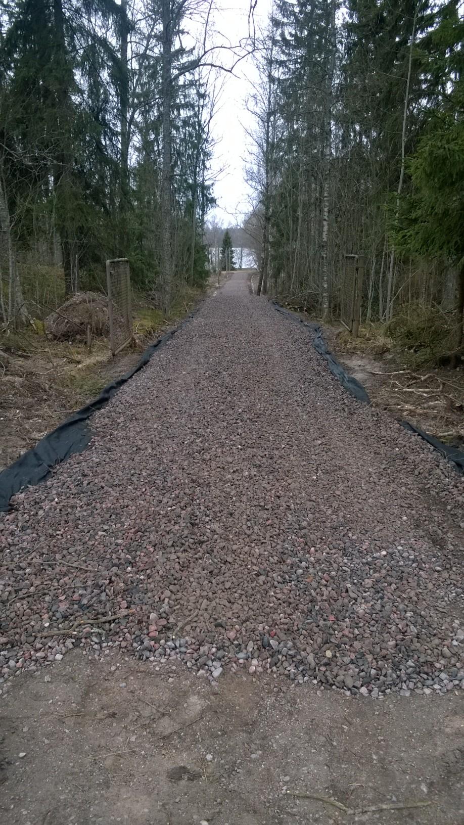 Uusimaa Pohjois Lohja Hiidenvesi Tontti Vapaa Ajan Ranta Sauna